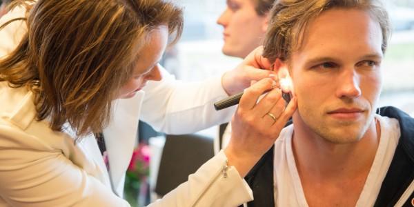 JewelEar Hoortoestellen oorafdruk voor zwemdoppen waterpolo team