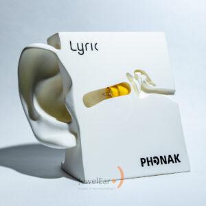 LYRIC onzichtbaar hoortoestel, kleinste gehoorapparaat